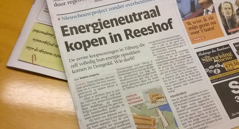 Energieneutraal kopen in Reeshof